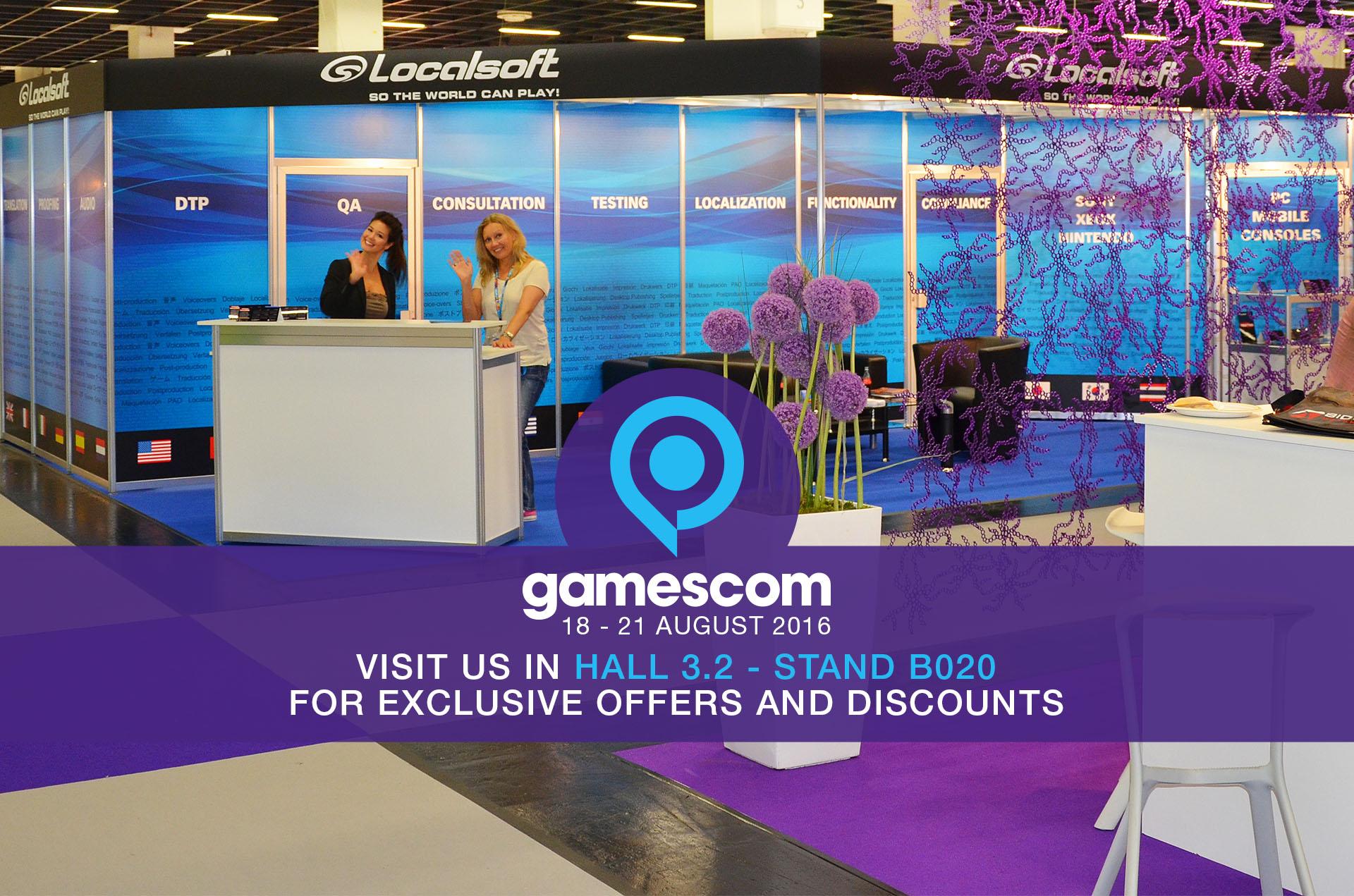 See us at Gamescom!